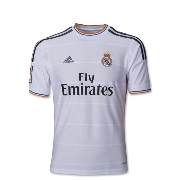 Real Madrid 13/14 Youth Home Soccer Jersey