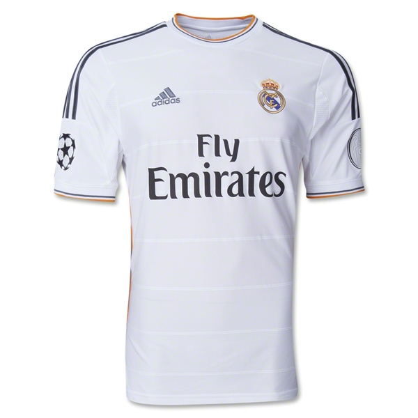 Real Madrid 13/14 UCL Home Soccer Jersey