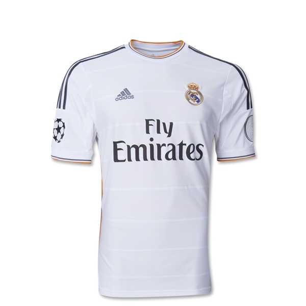 Real Madrid 13/14 Youth UCL Home Soccer Jersey