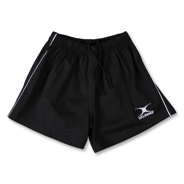 Gilbert Performance Match Rugby Shorts (Black)