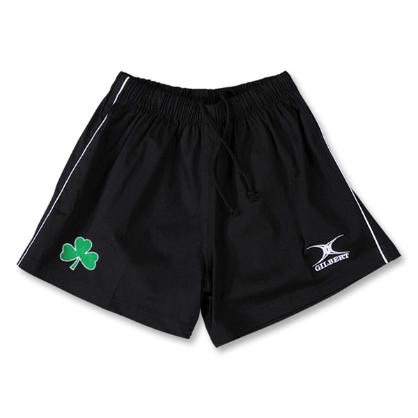 Shamrock Performance Match Rugby Shorts (Black)