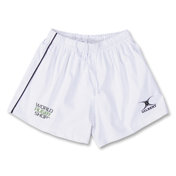 Gilbert World Rugby Shop Performance Match Shorts (White)