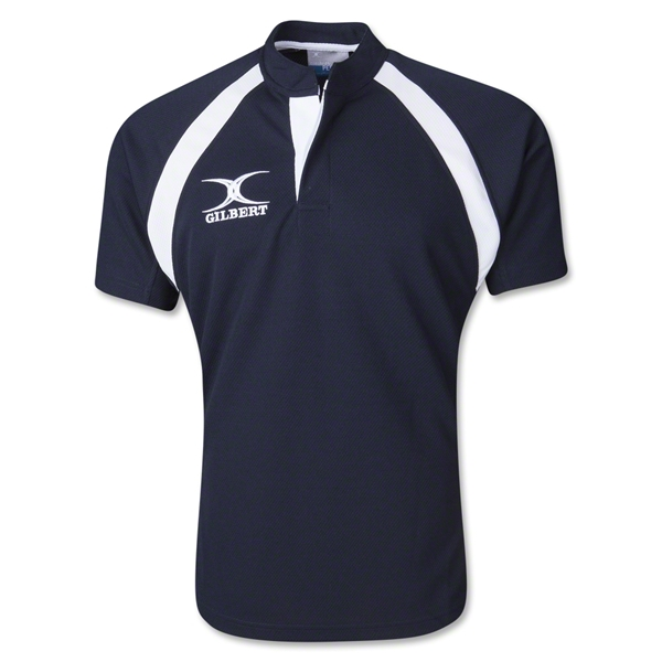 Gilbert Lightweight Match Rugby Jersey (Navy)
