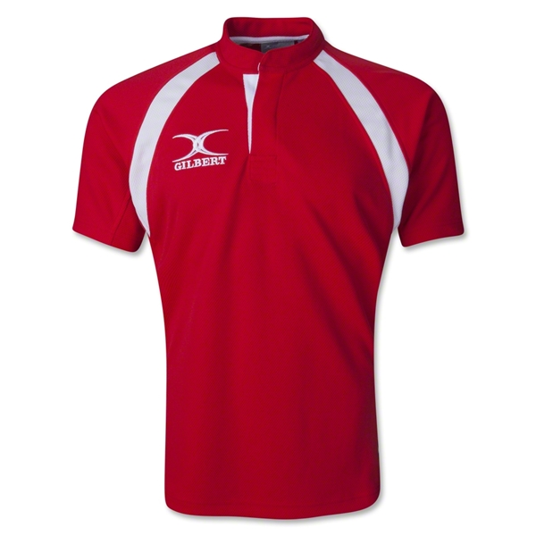 Gilbert Lightweight Match Rugby Jersey (Red)