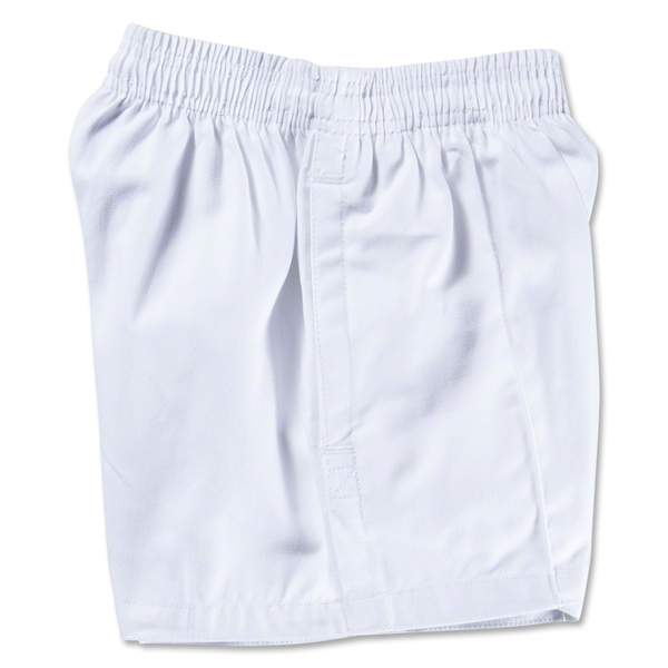 Gilbert Kiwi Pro Youth Rugby Short (White)