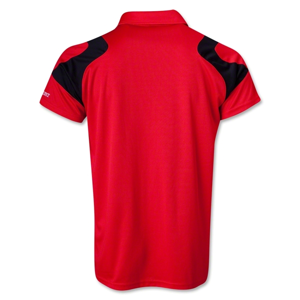 Gilbert Vapour Performance Polo (Red)