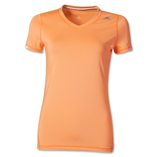 adidas TechFit Women's T-Shirt (Orange)