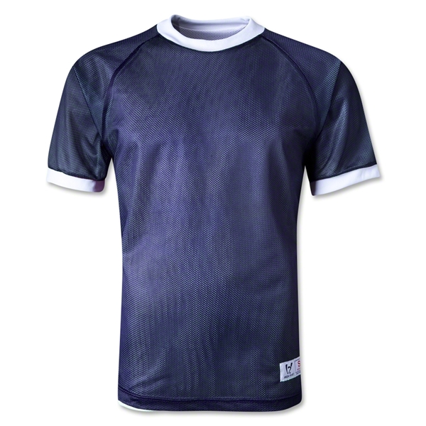 High Five Mini Mesh Reversible Jersey (Navy/White)
