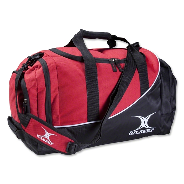 Gilbert Club V2 Player Duffle (Black/Red)
