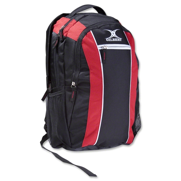 Gilbert Club V2 Rucksack (Black/Red)