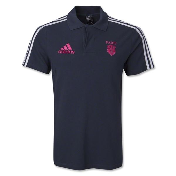 Stade Francais Club Supporter Polo (Gray)