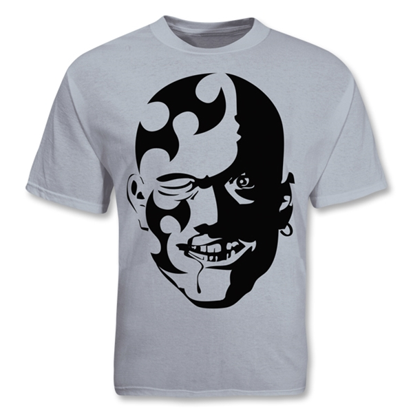 Tribal Mask SS T-Shirt (Gray)