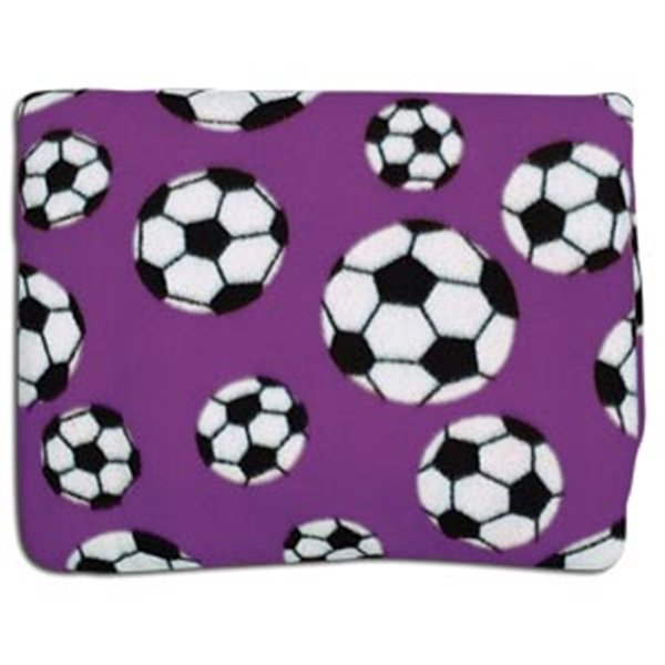 Soccer Pocket Throws (Purple)
