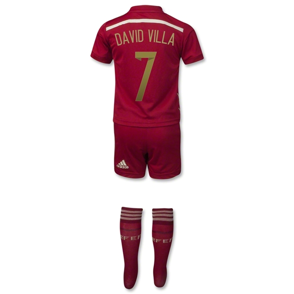 Spain 2014 DAVID VILLA Home Mini Kit