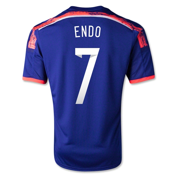 Japan 14/15 ENDO Home Soccer Jersey