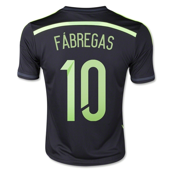 Spain 2014 FABREGAS Youth Away Soccer Jersey