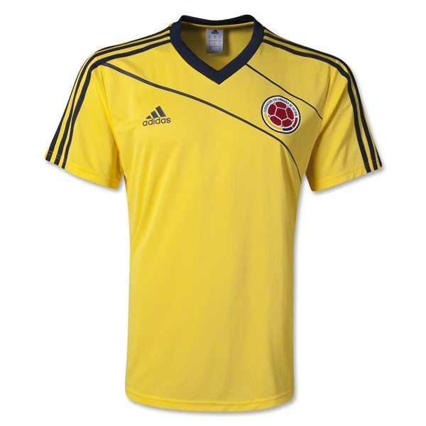 Colombia Home Training Jersey