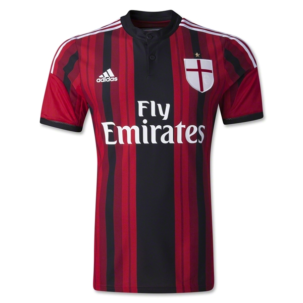 AC Milan 14/15 Authentic Home Soccer Jersey