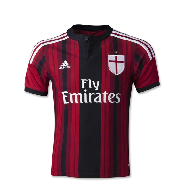 AC Milan 14/15 Youth Home Soccer Jersey
