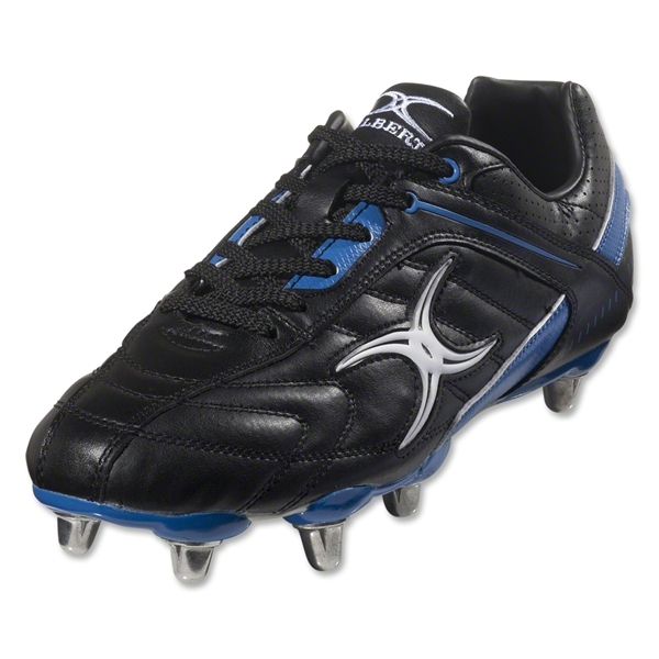 Gilbert Barbarian SG Rugby Boot (Blue/Black)