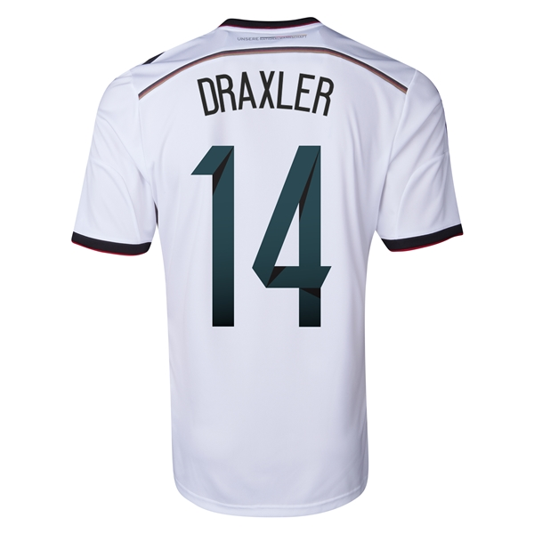 Germany 2014 DRAXLER Home Soccer Jersey