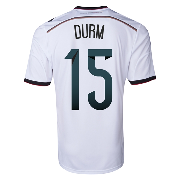 Germany 2014 DURM Home Soccer Jersey