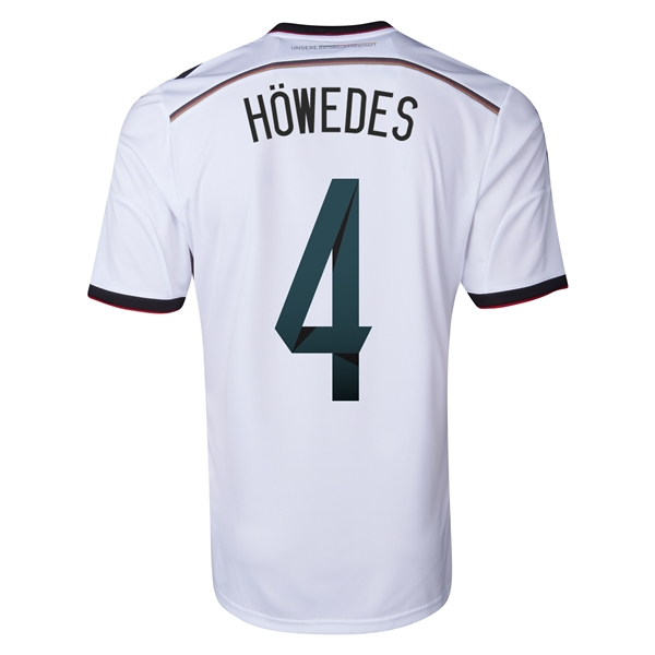 Germany 2014 HOWEDES Home Soccer Jersey