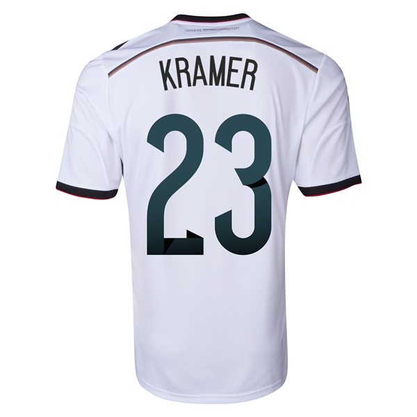 Germany 2014 KRAMER Home Soccer Jersey