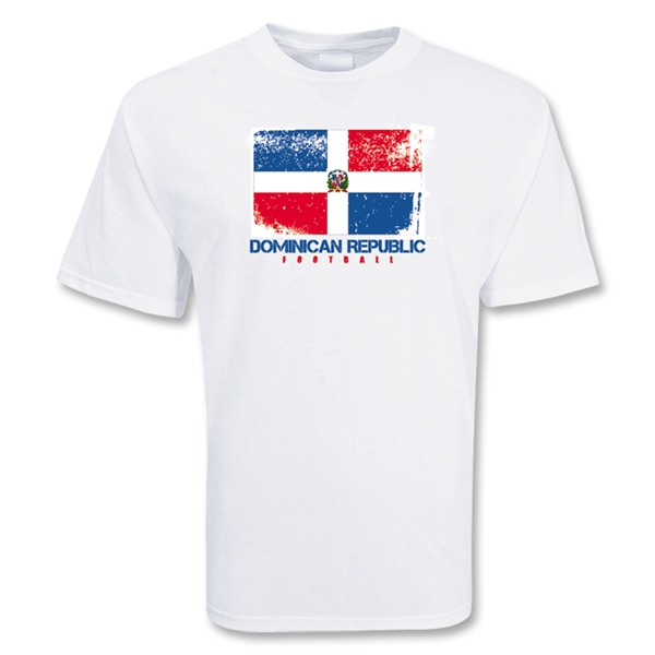 Dominican Republic Football T-Shirt
