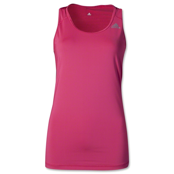 adidas Women's TechFit Tank (Berry)
