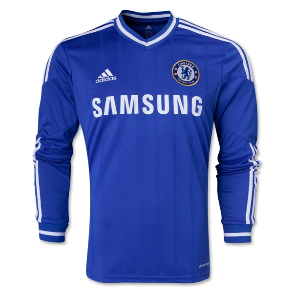 Chelsea 13/14 LS Home Soccer Jersey