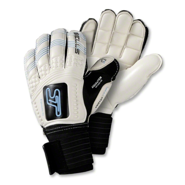 Sells Convex Aqua Embossed KIDS Goalkeeper Glove