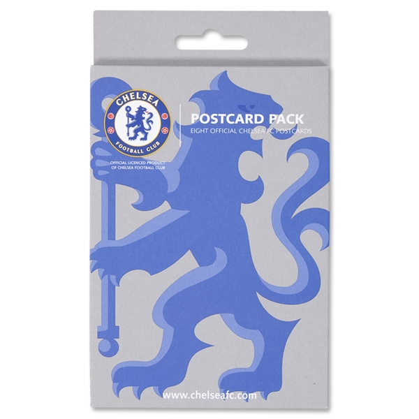 Chelsea Postcard Pack of 8