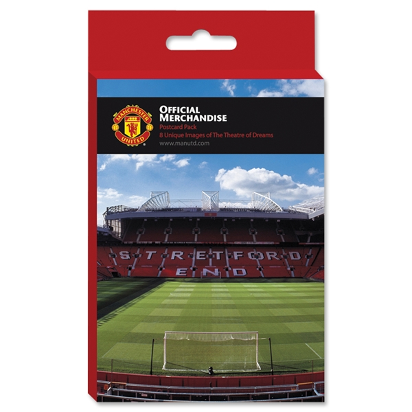 Manchester United Postcard (8-Pack)
