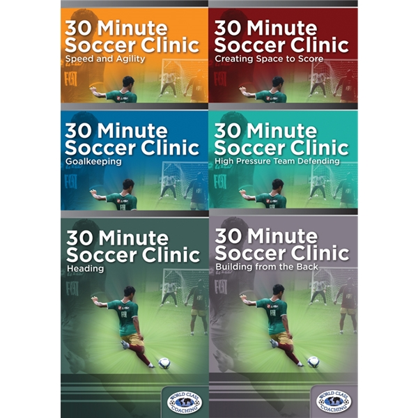30 Minute Soccer Clinic Complete Set DVD
