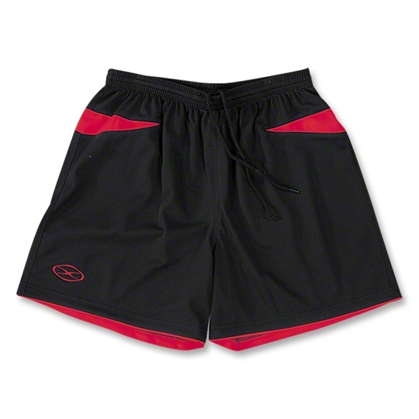 Xara Goodison Soccer Team Shorts (Blk/Red)