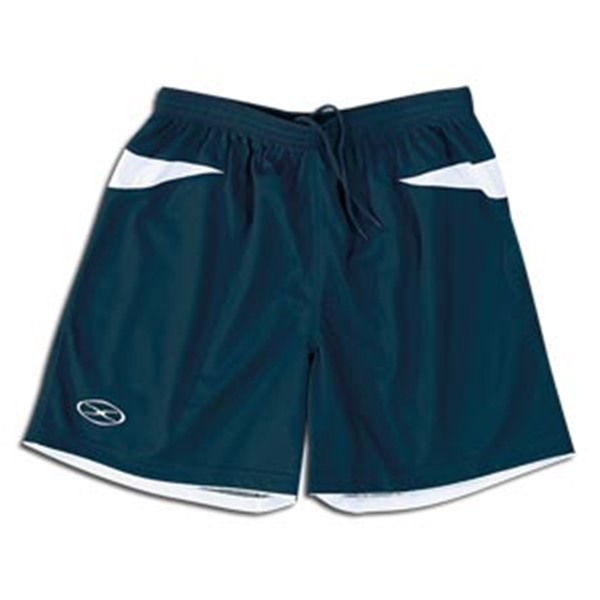 Xara Goodison Soccer Team Shorts (Navy/White)