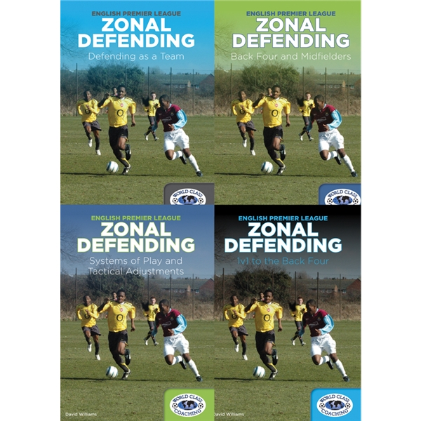 English Premier League Zonal Defending 4 DVD Set
