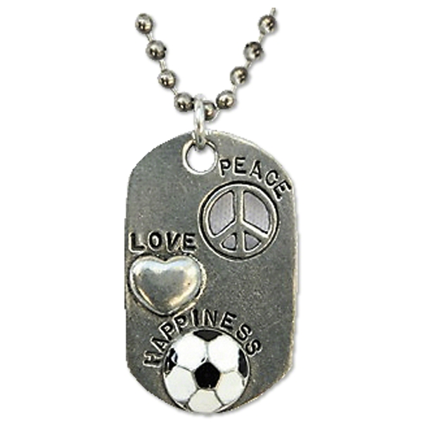 Love, Peace and Happiness Necklace
