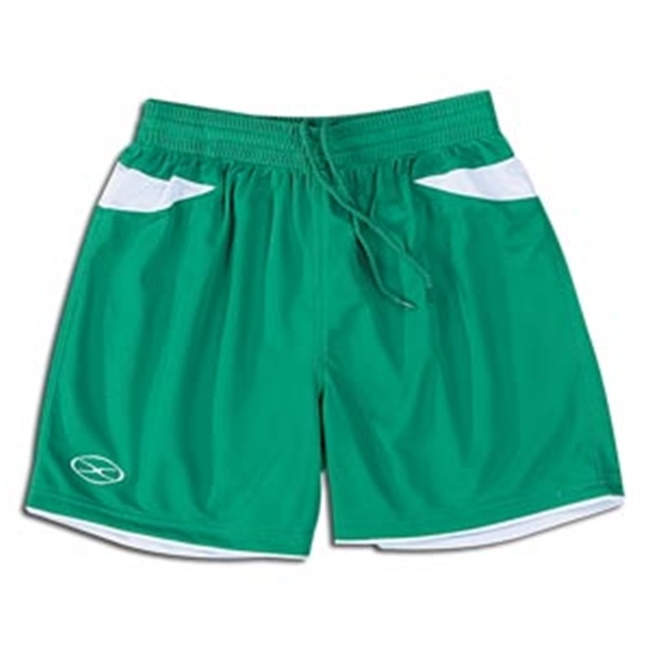 Xara Women's Goodison Shorts (Green/Wht)