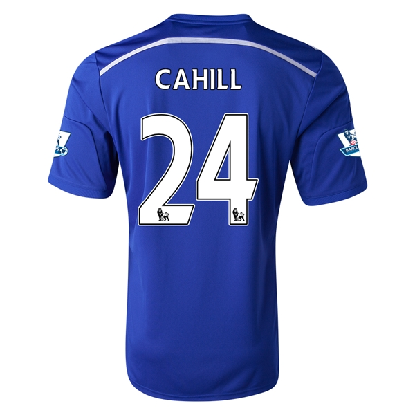 Chelsea 14/15 24 CAHILL Home Soccer Jersey