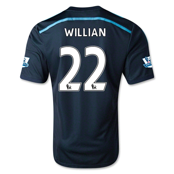 Chelsea 14/15 22 WILLIAN Third Soccer Jersey