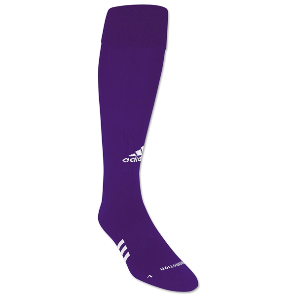 adidas ForMotion Elite NCAA Socks (Pur/Wht)