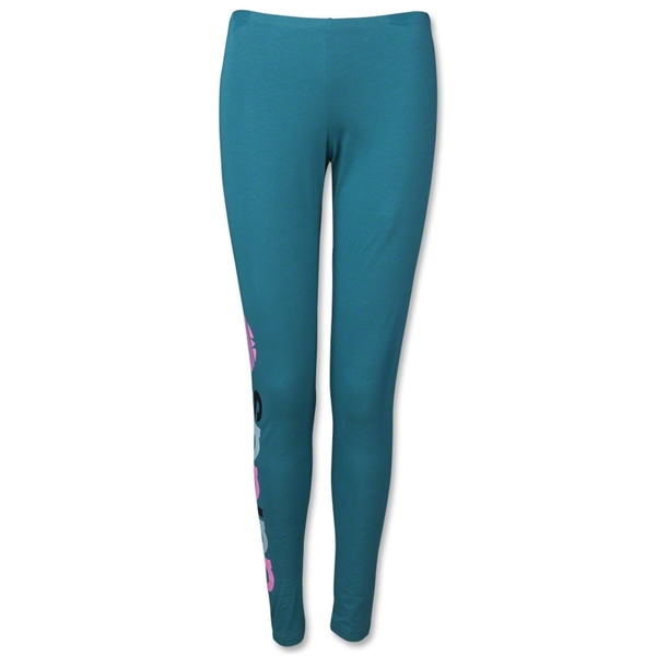 adidas Originals Women's Multicolored Trefoil Leggings