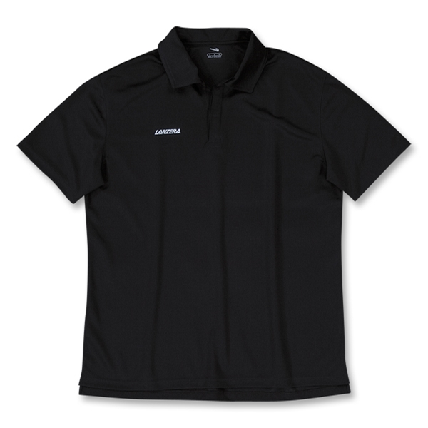 Lanzera Soccer Polo (Black)