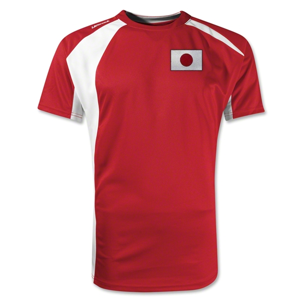 Japan Gambeta Soccer Jersey (Red)