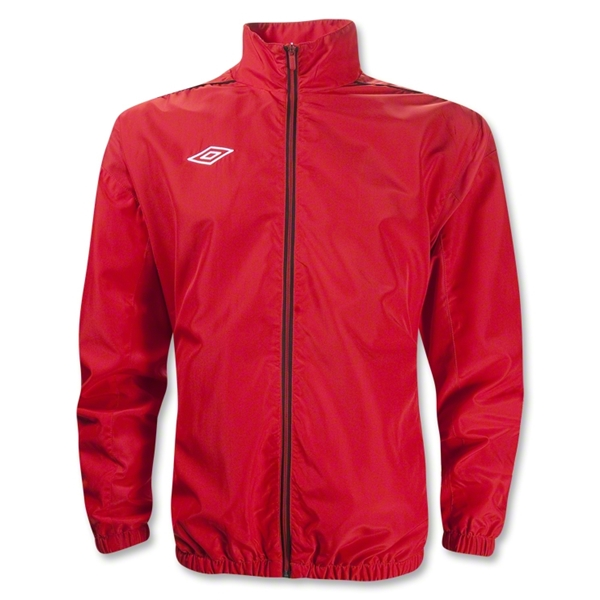 Umbro Tournament Jacket (Red/Blk)
