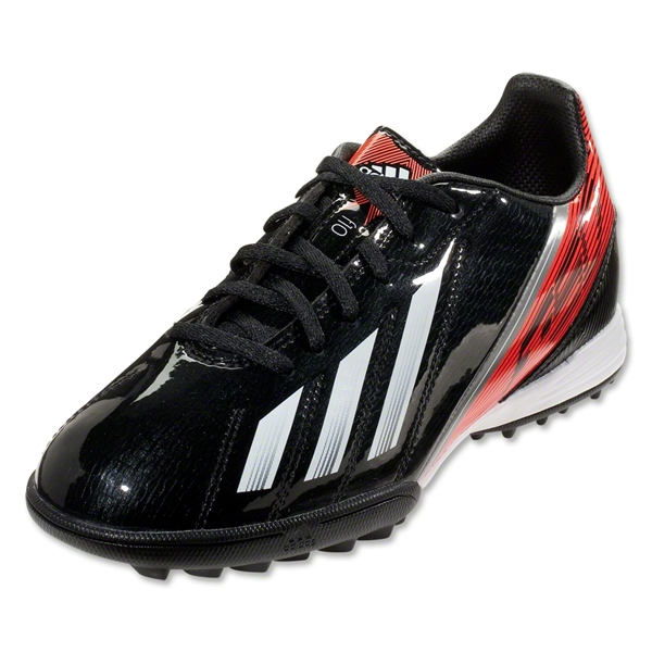 adidas F10 TRX TF Juniors (Black/Running White)