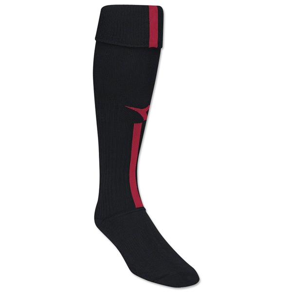 Diadora Azzurri Soccer Socks (Black/Red)