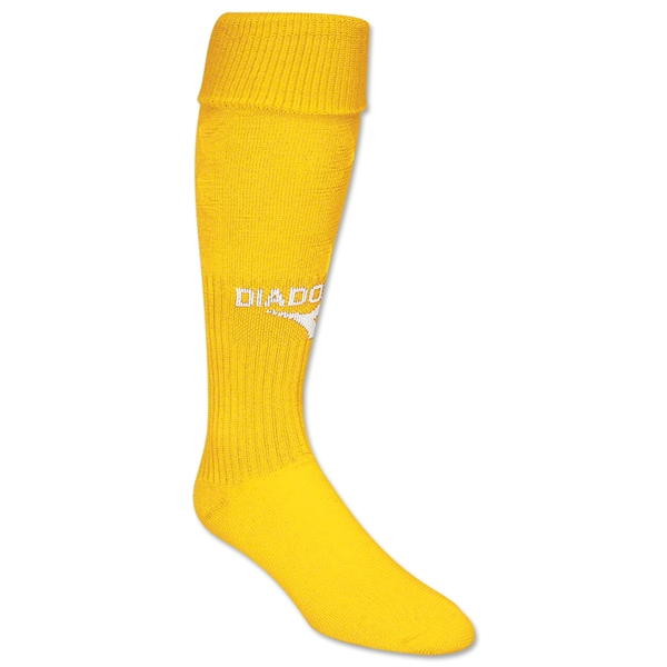 Diadora Squadra Soccer Socks (Yellow)
